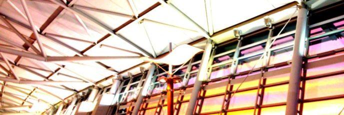 仁川国際空港でみた今日の朝焼けです
