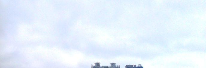 広安里 ( クァンアルリ / 광안리 ) のビーチとその周辺の様子です