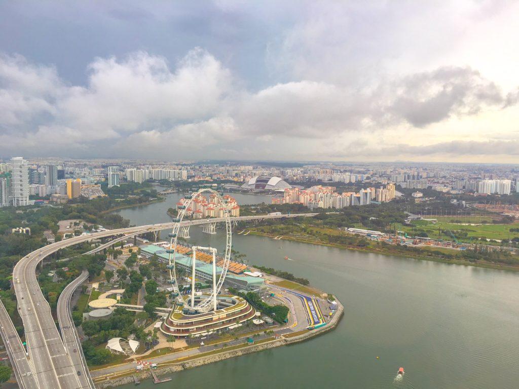 201802 Singapore シンガポール マリーナ・ベイ・サンズ