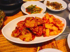 オムニ食堂 ( 엄니식당 ) 新大久保の本店で食べました!