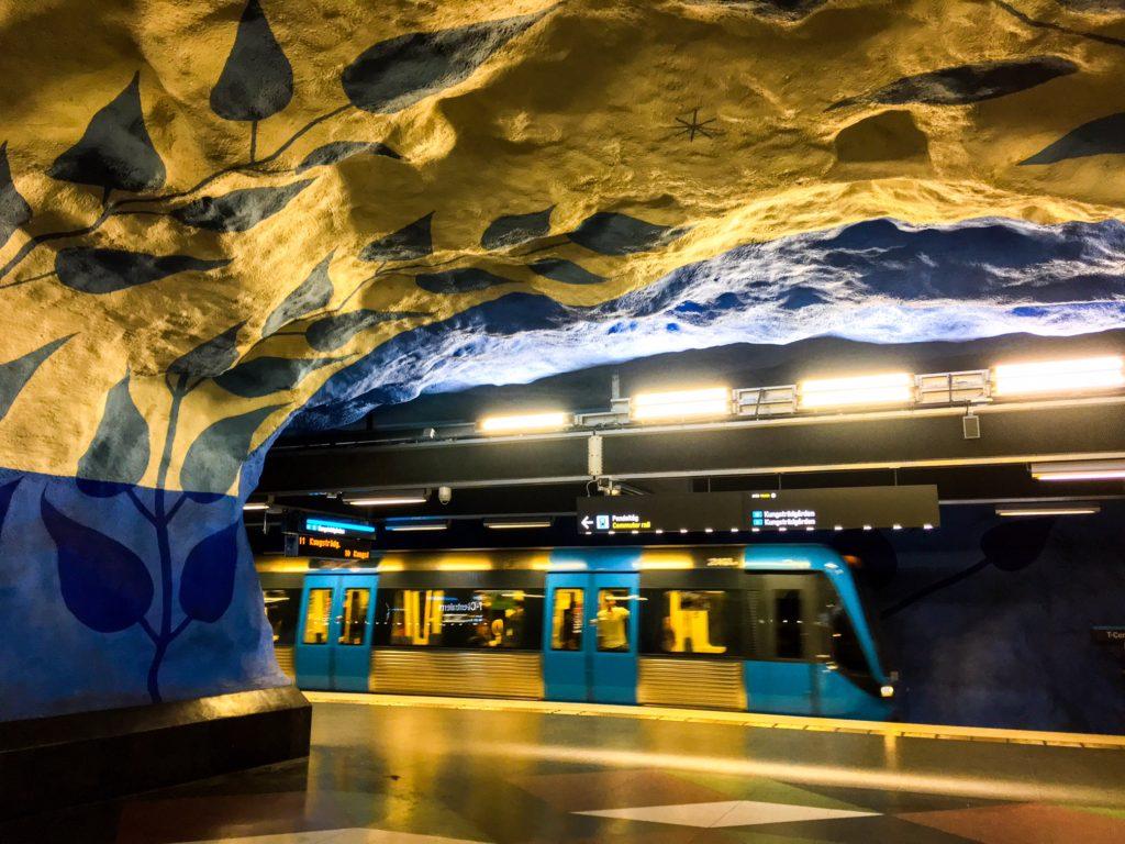 Stockholm Metro ( ストックホルムメトロ ) T-Centralen