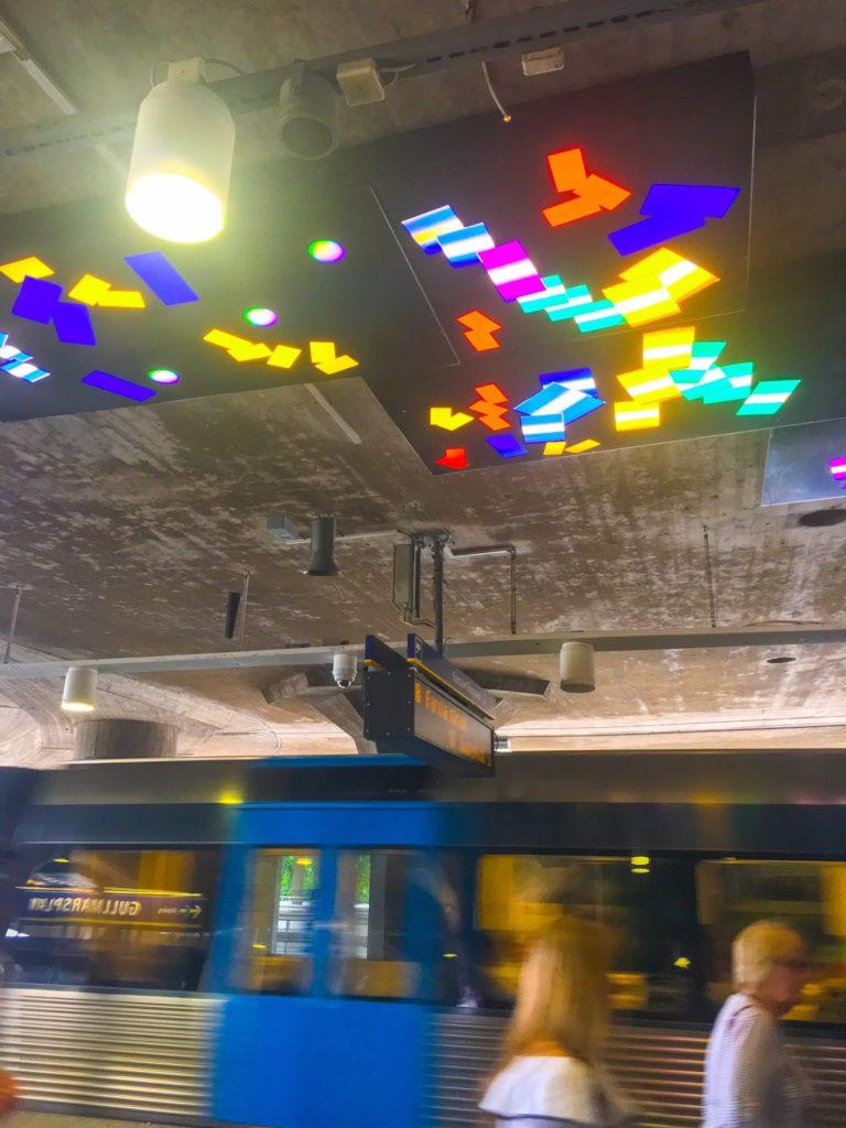 Stockholm Metro ( ストックホルムメトロ ) Gullmarsplan metro station