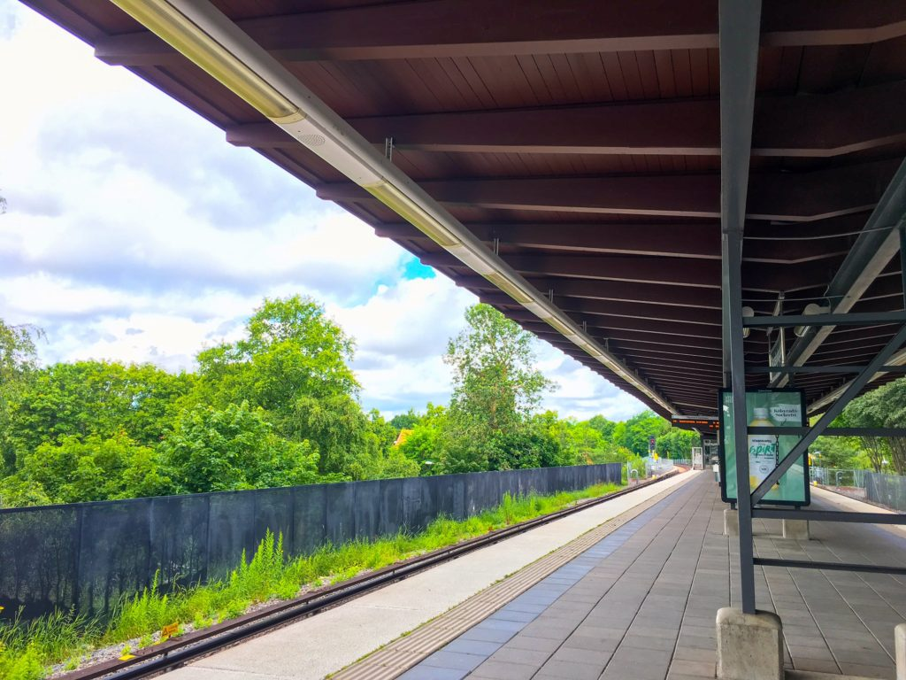 Stockholm Metro ( ストックホルムメトロ ) Skogskyrkogården metro station