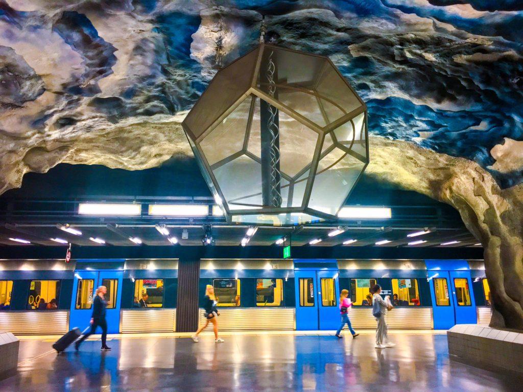 Stockholm Metro ( ストックホルムメトロ ) Tekniska högskolan metro station