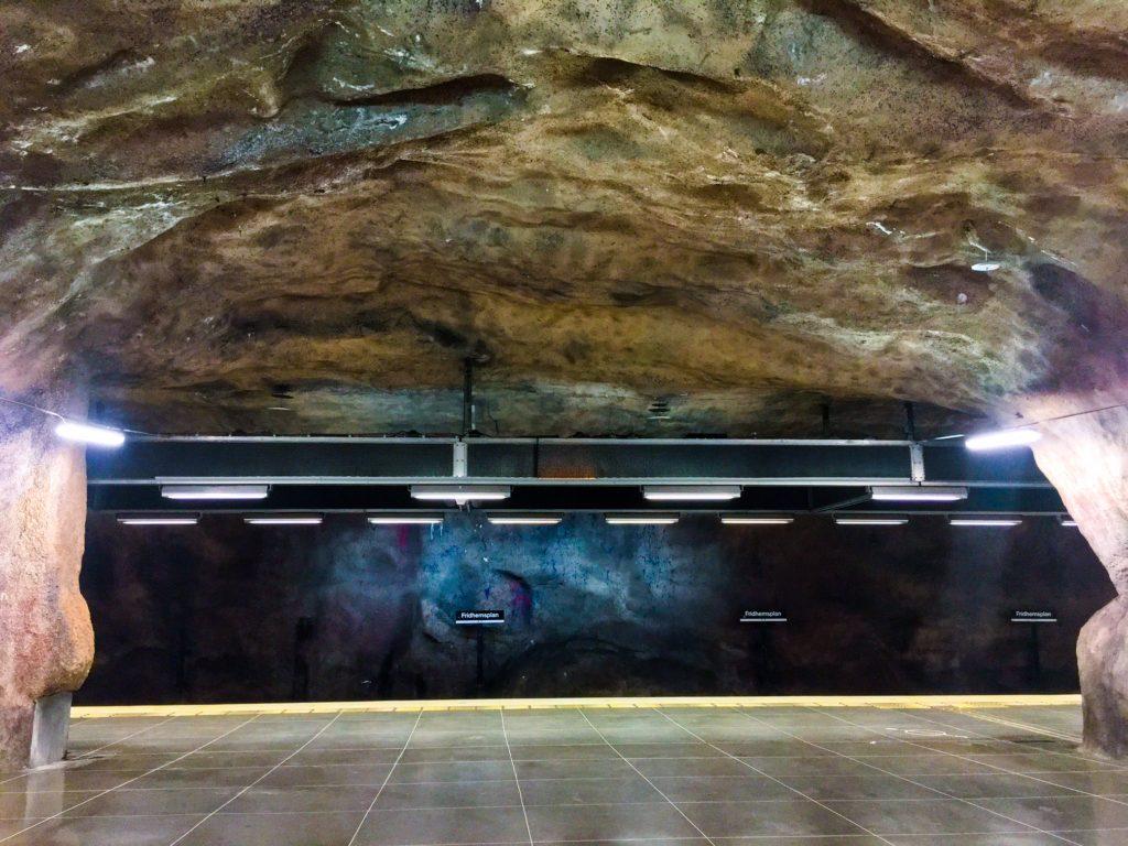 Stockholm Metro ( ストックホルムメトロ ) Fridhemsplan metro station